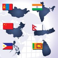 Asia maps part 2