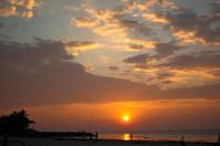 Kochi, India. Sunset
