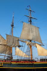 Tall Ship Sails and Masts