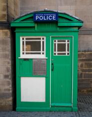 original vintage police call box
