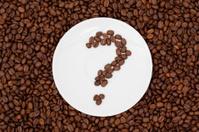 Coffee Beans Question Mark