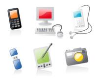 shiny icons: gadgets