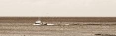 Scottish fishing boat returns to harbour
