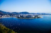 High angle view of Rio de Janeiro, Brazil