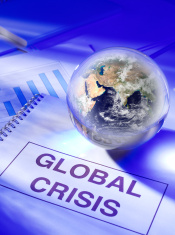Global Crisis in a Globe