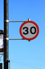 Speed Limit 30 Mile