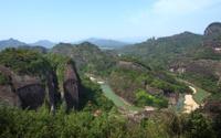 Peak of Wuyi Mountain