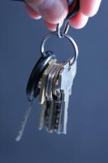 Turning over keys