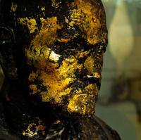 Gold Leafed Monk