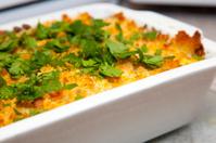 macaroni cheese and parsley
