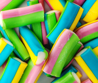 Retro Coloured pencil sweets (Candies)