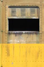 Old train window