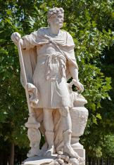 Paris - statue form Tuileries garden