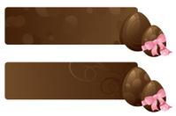 Chocolate Egg Banners