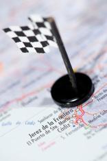 Moto GP Racing Track in Spain
