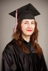 College Graduate Studio Portrait