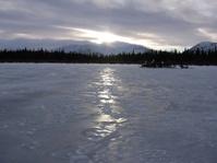 Sunset in Yukon