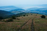 Evening landscape in Bulgaria
