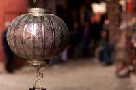 Metal lamp shade Marrakech