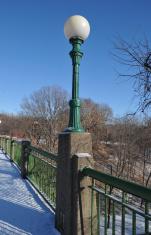 Street light on Bridge