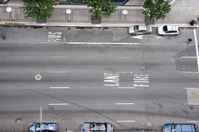 Empty New York street