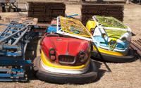 cars of amusement park