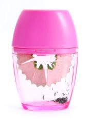 Pink sharpener for pencil