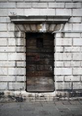 Wood door background