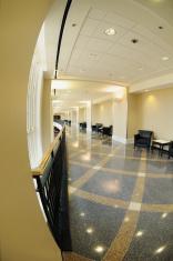Hallway in modern building