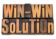 win-win solution in letterpress