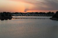 Sunset at Aspire Park, Qatar