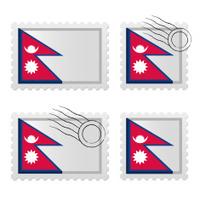 Nepal stamp