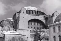 Hagia Sophia in Snow