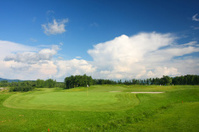 Golf course on a nice sunny day