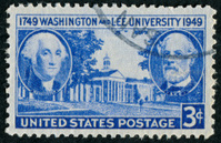 Washington And Lee University Stamp