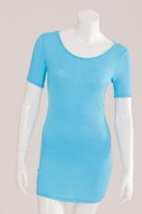T-Shirt long blue