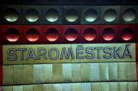 Staromestska - Metro station in Old Town