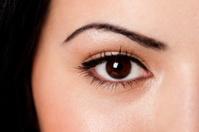 Eyebrow and eye