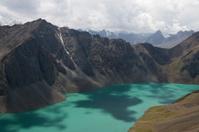 Mountain lake in Kyrgyzstan