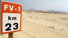 Fuerteventura desert road