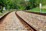 rail railway track