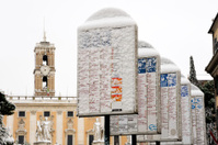 Snow on Rome