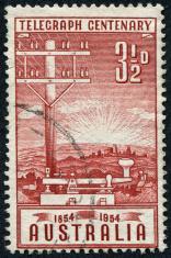 Telegraph Centenary Stamp