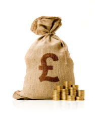 Bag of Money Pound stock photos - FreeImages.com