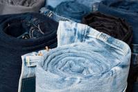 Rolled Denim Jeans