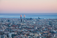 View of Port Olimpic - Barcelona