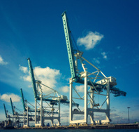 the industrial port of miami
