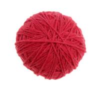 Red yarn ball
