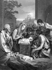 Nativity Engraving