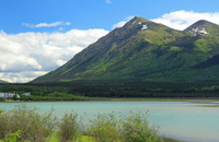 Nares Lake in Yukon